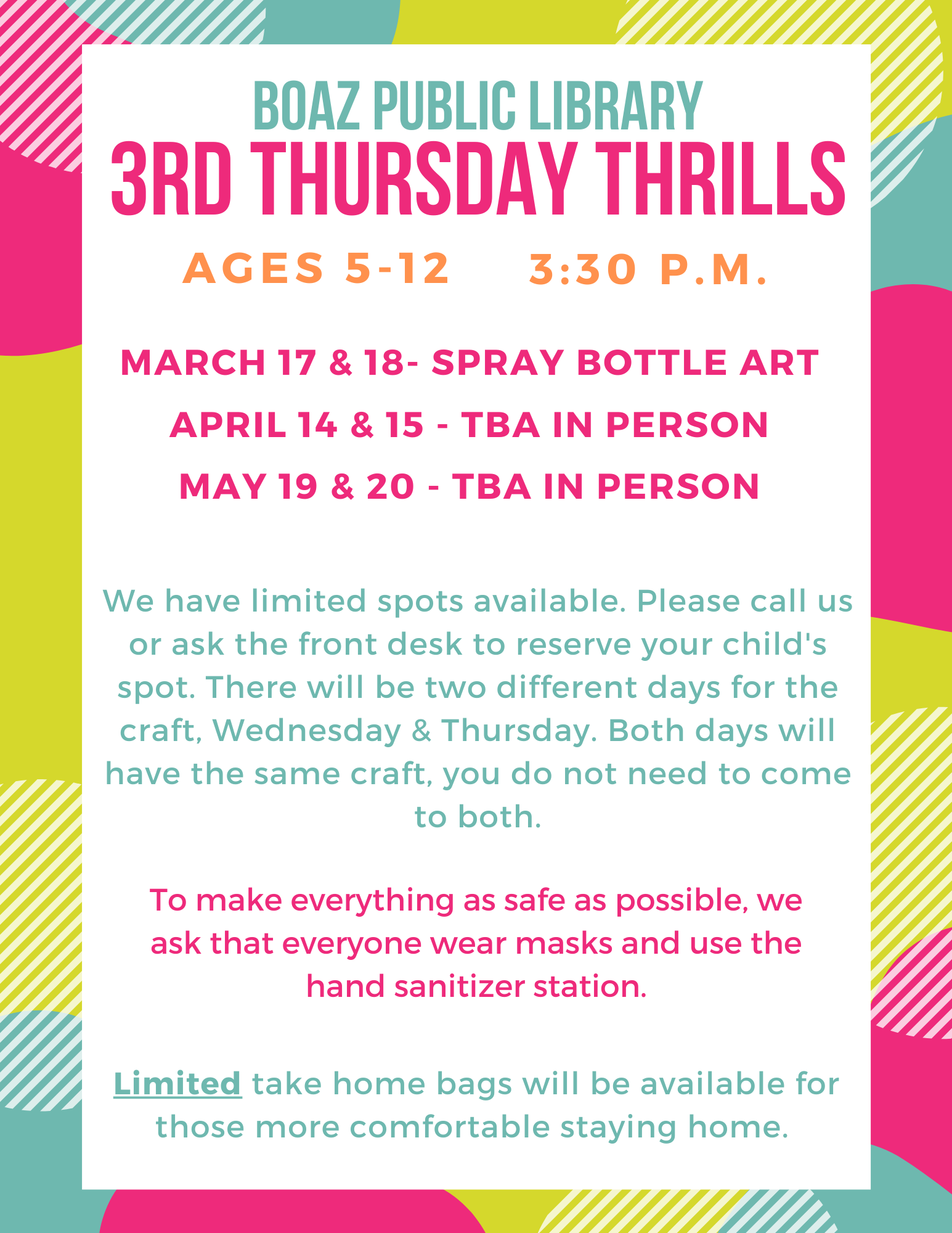 3rd Thursday Thrills