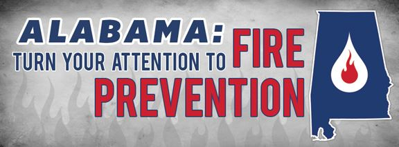 Alabama Fire Prevention Banner