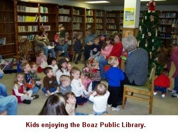 Kids Enjoy the Public Library