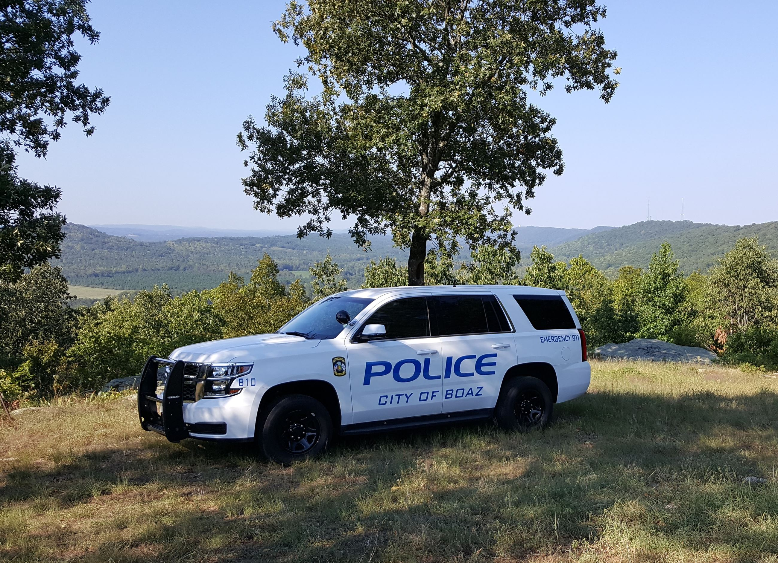 New Boaz Police Department Tahoe