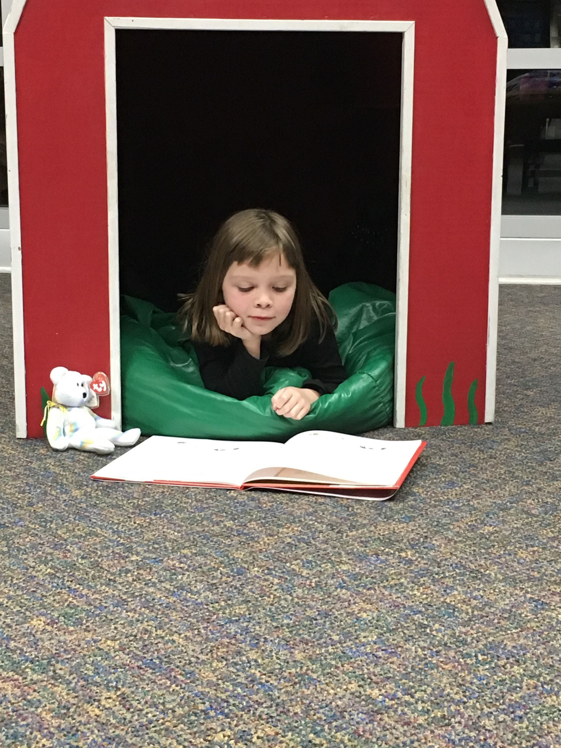 You can also check out one of our Reading Buddies to read with in the library.