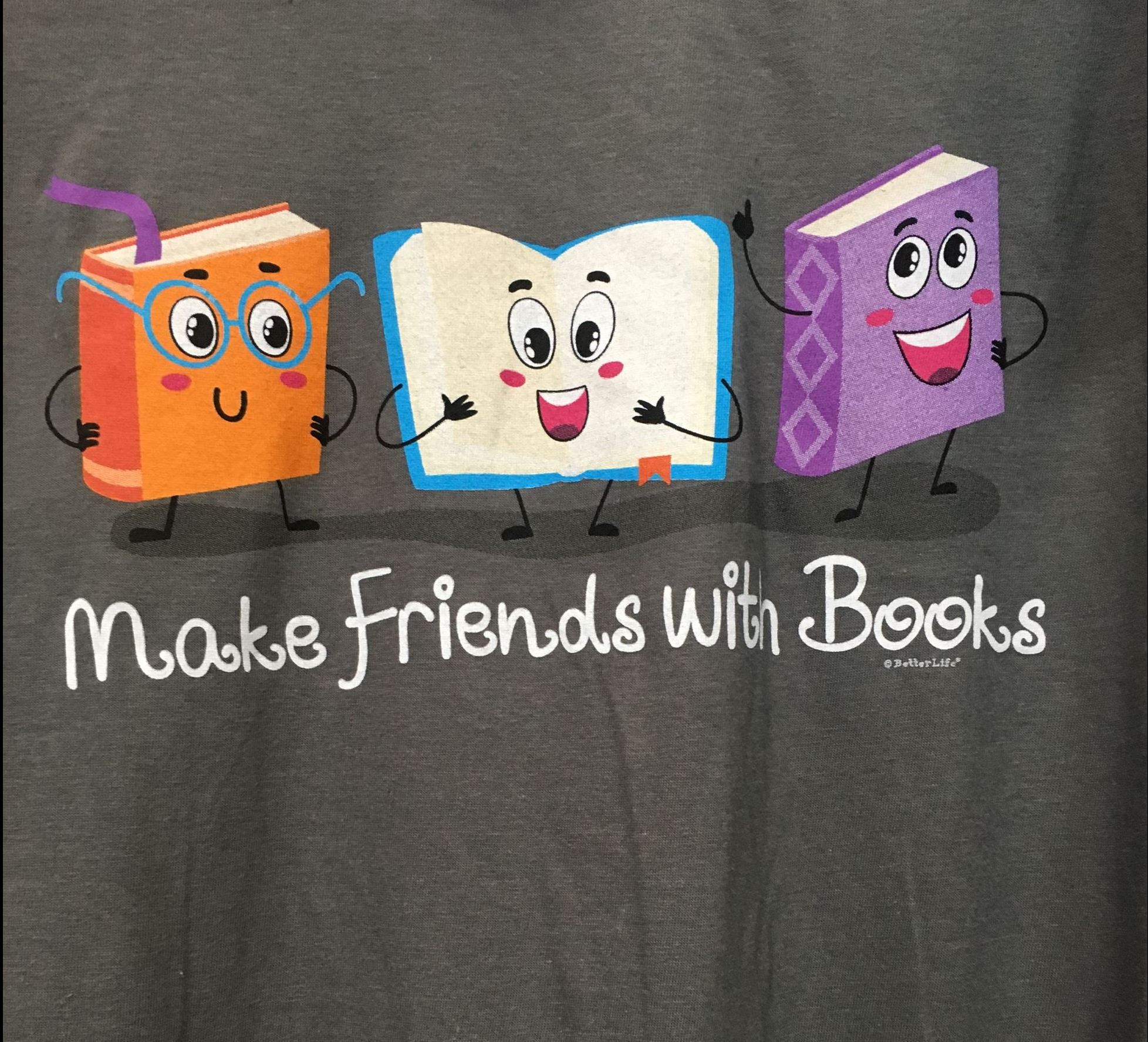 Make Friends with Books